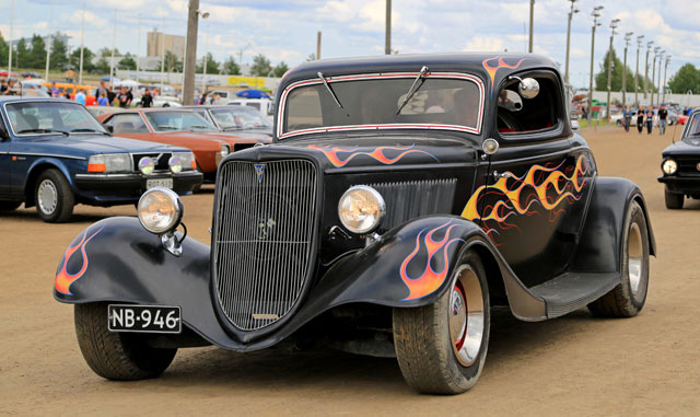 The Pigeon Forge Fall Rod Run