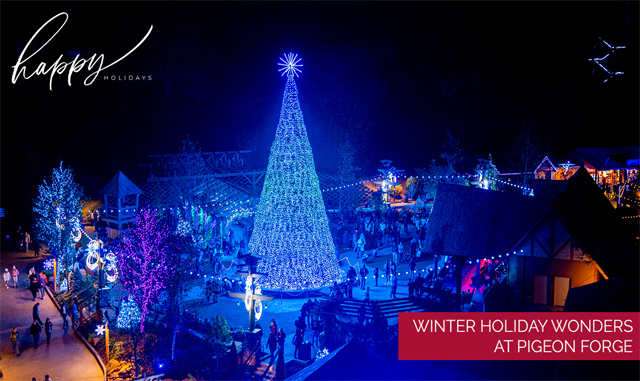Winter Holiday Wonders at Pigeon Forge, TN