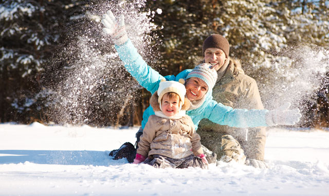 Outdoor Fun Throughout the Winter in Pigeon Forge