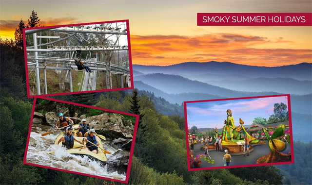Spectacular Smoky Summer Holidays in the Vicinity of Pigeon Forge, TN